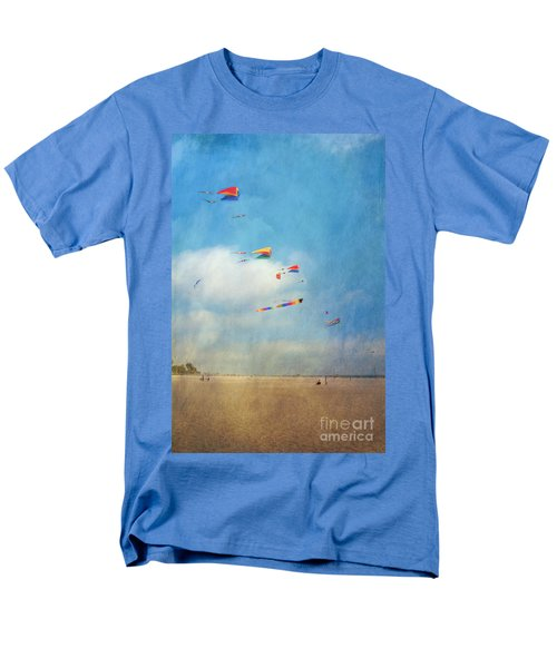 Men's T-Shirt  (Regular Fit) featuring the photograph Go Fly A Kite by David Zanzinger