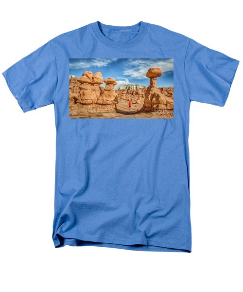 Goblin Valley State Park Men's T-Shirt  (Regular Fit) by JR Photography