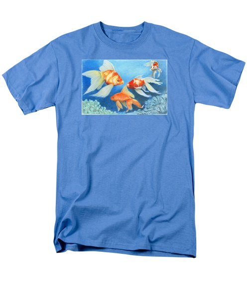Goldfish Tank Men's T-Shirt  (Regular Fit) by Phyllis Howard