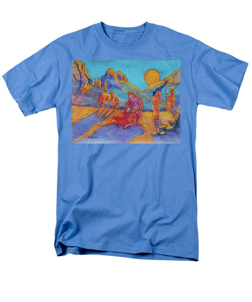 Good Samaritan Parable Painting Bertram Poole Men's T-Shirt  (Regular Fit) by Thomas Bertram POOLE