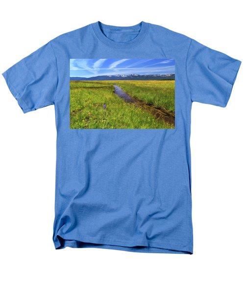 Men's T-Shirt  (Regular Fit) featuring the photograph Goodrich Creek by James Eddy