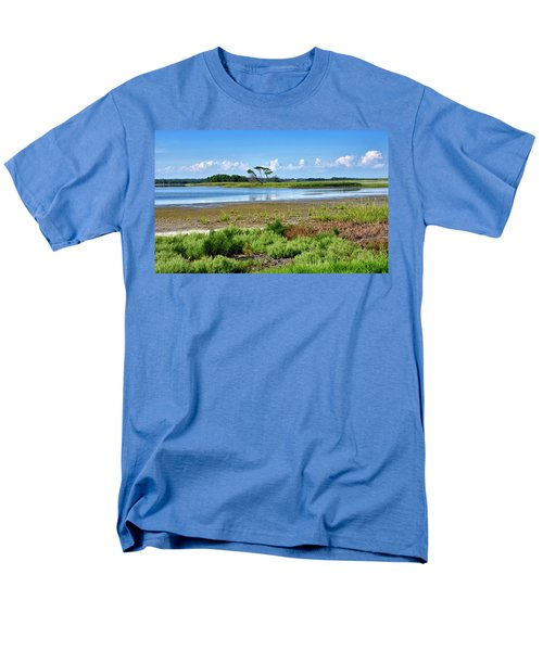 Men's T-Shirt  (Regular Fit) featuring the photograph Gordons Pond At Cape Henlopen State Park - Delaware by Brendan Reals