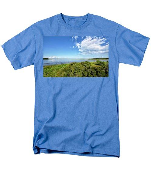 Men's T-Shirt  (Regular Fit) featuring the photograph Gordons Pond Overlook - Cape Henlopen State Park - Delaware by Brendan Reals