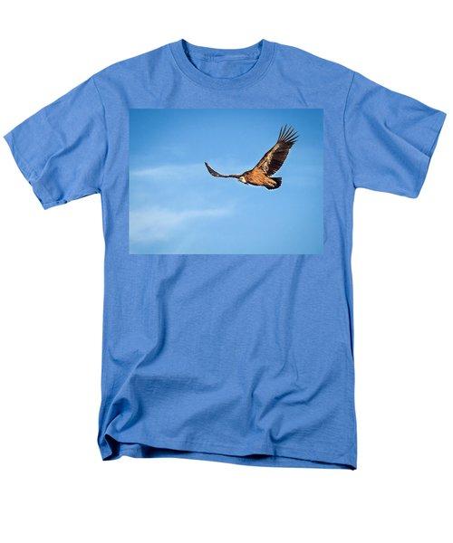 Griffon Vulture Men's T-Shirt  (Regular Fit) by Meir Ezrachi