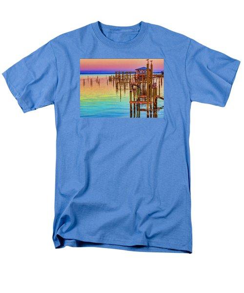 Guarding The Dock Men's T-Shirt  (Regular Fit) by Roberta Byram