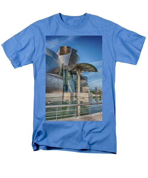 Guggenheim Museum Bilbao Spain Men's T-Shirt  (Regular Fit) by James Hammond
