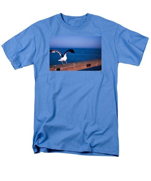 Gull Dance Men's T-Shirt  (Regular Fit) by Lora Lee Chapman