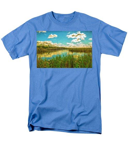 Gunnel Oval By Paint Men's T-Shirt  (Regular Fit)