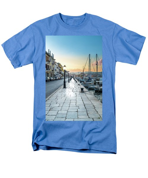 Gythion / Greece Men's T-Shirt  (Regular Fit) by Stavros Argyropoulos
