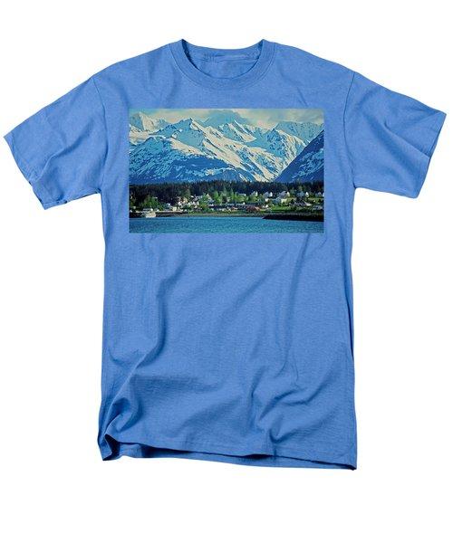 Haines - Alaska Men's T-Shirt  (Regular Fit) by Juergen Weiss