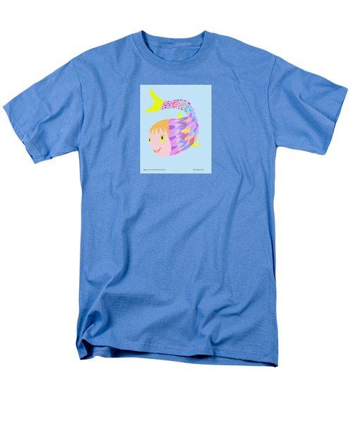 Happy Clown Fish  Men's T-Shirt  (Regular Fit) by Fred Jinkins