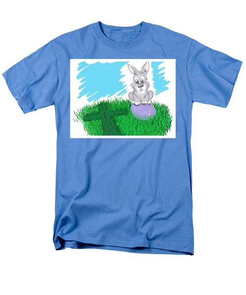 Happy Easter Men's T-Shirt  (Regular Fit) by Antonio Romero