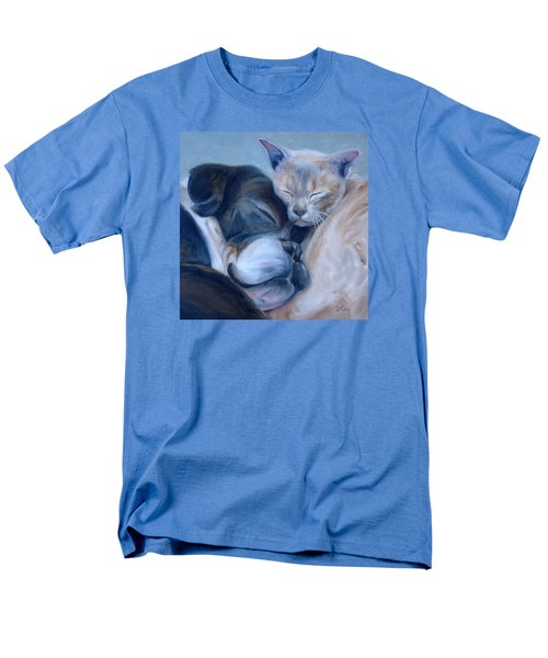 Men's T-Shirt  (Regular Fit) featuring the painting Harmony by Donna Tuten