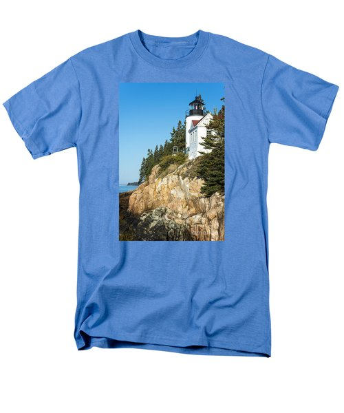 Head Lighthouse Men's T-Shirt  (Regular Fit) by Anthony Baatz
