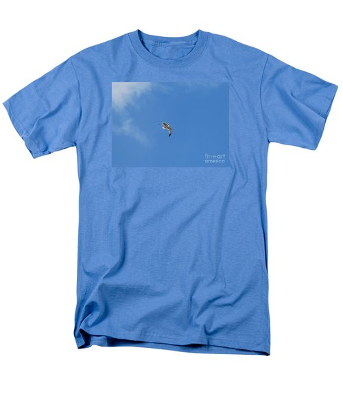 Herring Sea Gull 20120409_244a Men's T-Shirt  (Regular Fit) by Tina Hopkins