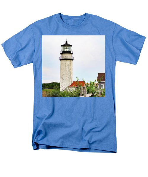 Highland Lighthouse II Men's T-Shirt  (Regular Fit) by Marianne Campolongo