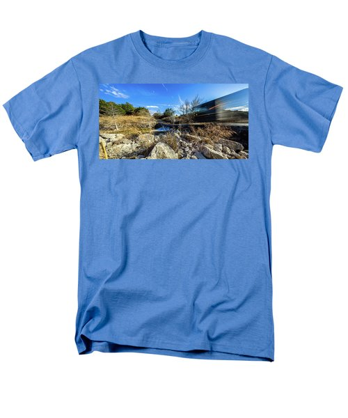 Hill Country Back Road Long Exposure #2 Men's T-Shirt  (Regular Fit) by Micah Goff