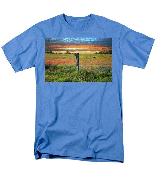 Hill Country Heaven Men's T-Shirt  (Regular Fit) by Lynn Bauer