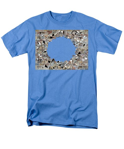 Hole In The Wall - Exploding Wal Men's T-Shirt  (Regular Fit) by Michal Boubin
