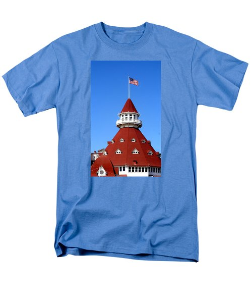 Men's T-Shirt  (Regular Fit) featuring the photograph Hotel Del Coronado by Christopher Woods