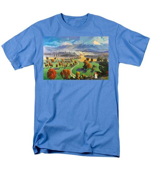 I Dreamed America Men's T-Shirt  (Regular Fit)