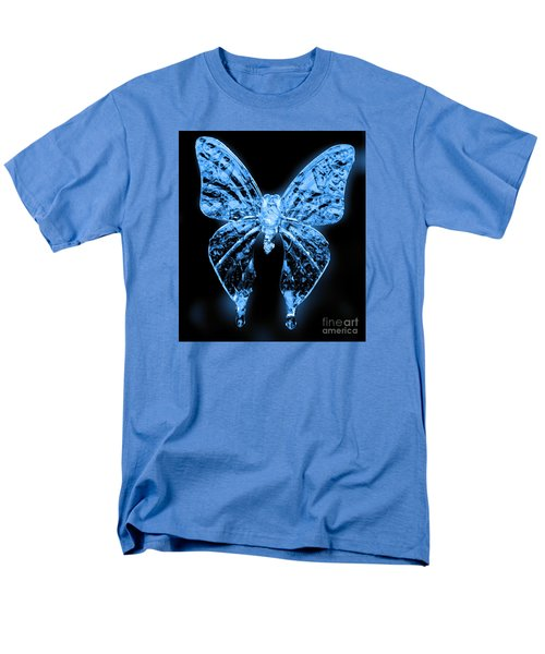 Men's T-Shirt  (Regular Fit) featuring the photograph Ice Wing Butterfly by Cassandra Buckley