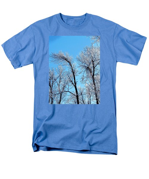 Iced Trees Men's T-Shirt  (Regular Fit) by Craig Walters