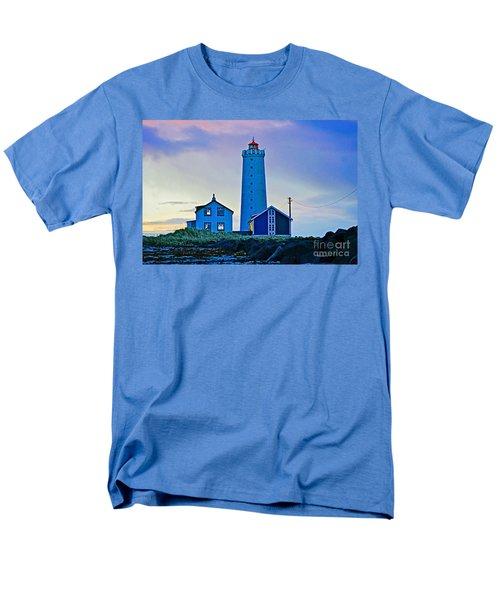 Iceland Lighthouse Men's T-Shirt  (Regular Fit)