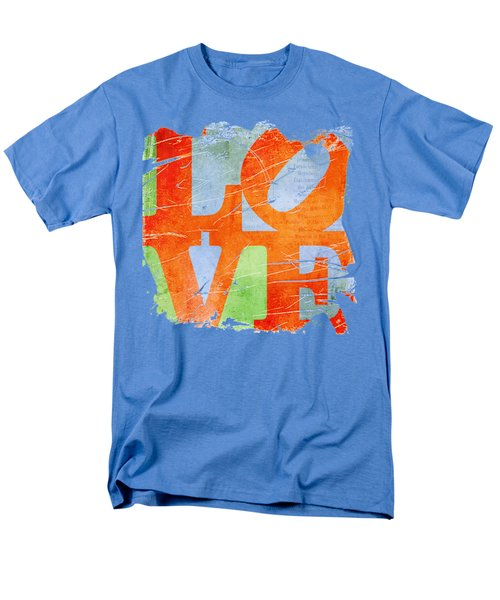 Iconic Love - Grunge Men's T-Shirt  (Regular Fit) by Paulette B Wright