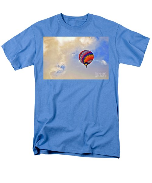 Men's T-Shirt  (Regular Fit) featuring the photograph In The Clouds by Gina Savage