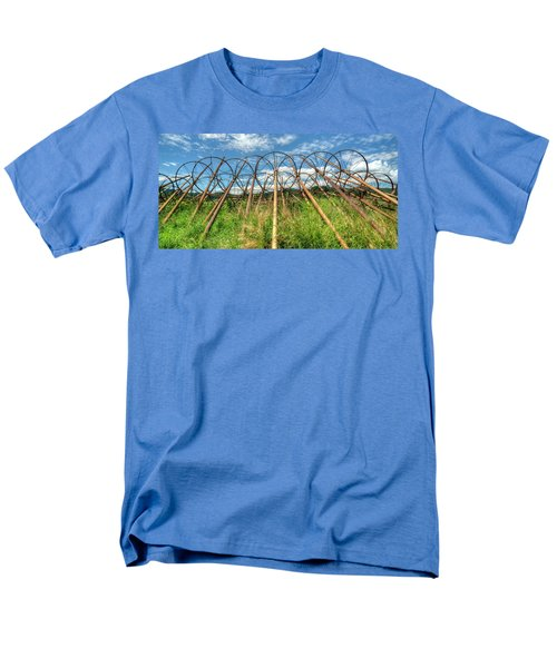 Irrigation Pipes 1 Men's T-Shirt  (Regular Fit) by Jerry Sodorff