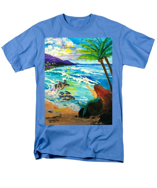 Island Sisters Men's T-Shirt  (Regular Fit) by Karon Melillo DeVega