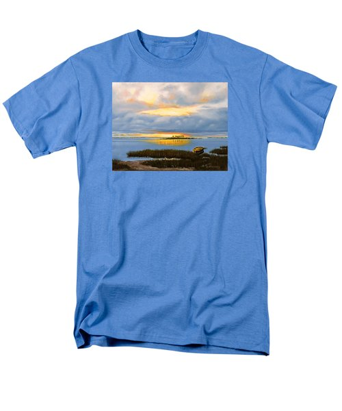 Island Sunset Men's T-Shirt  (Regular Fit) by Rick McKinney
