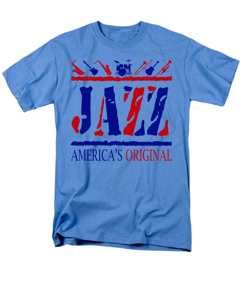 Jazz Americas Original Men's T-Shirt  (Regular Fit) by David G Paul