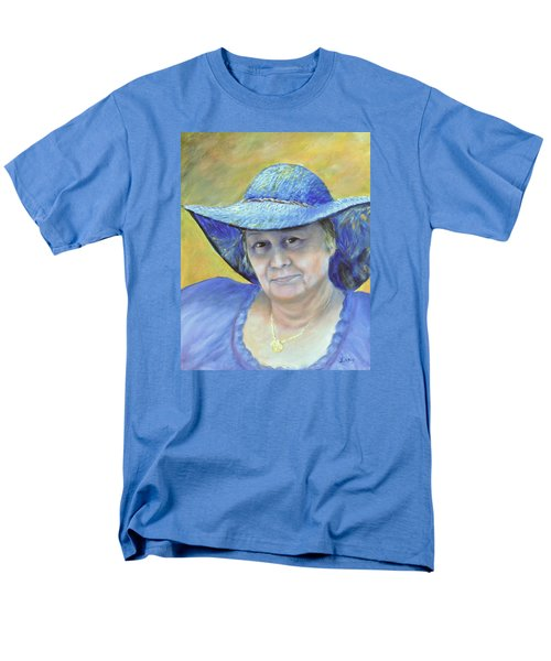 Men's T-Shirt  (Regular Fit) featuring the painting Johanna by Luczay