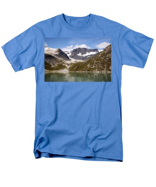 John Hopkins Glacier 5 Men's T-Shirt  (Regular Fit) by Richard J Cassato