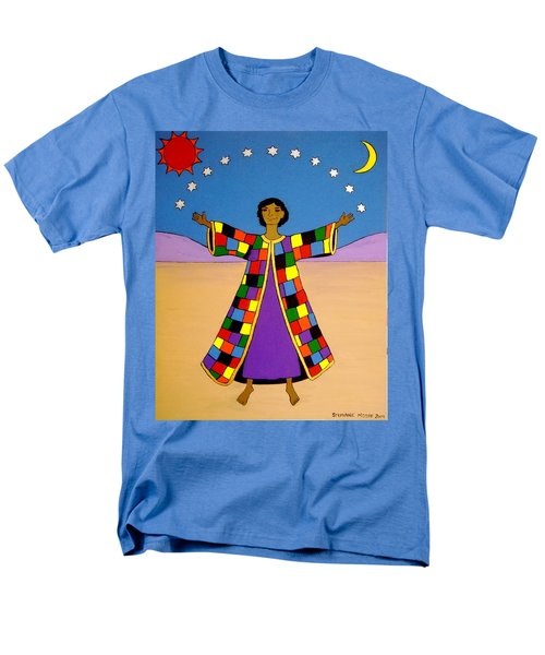 Joseph And His Coat Of Many Colours Men's T-Shirt  (Regular Fit) by Stephanie Moore