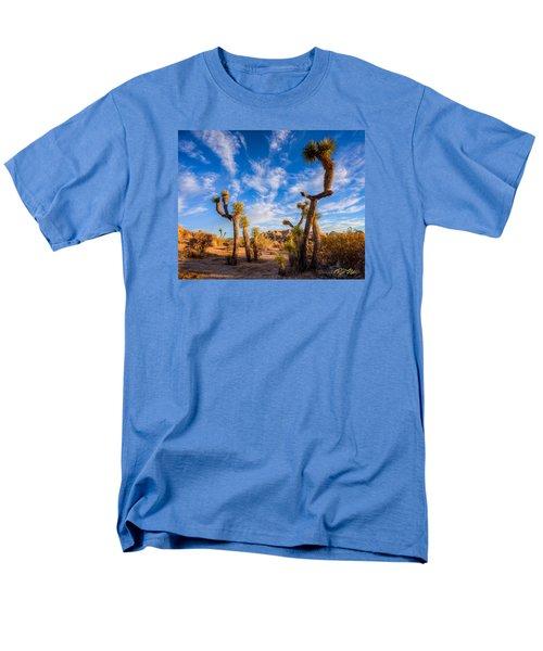 Men's T-Shirt  (Regular Fit) featuring the photograph Joshua Tree Dawn by Rikk Flohr