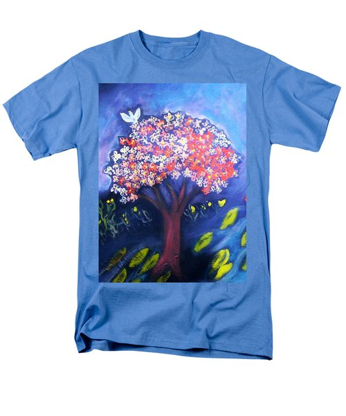 Men's T-Shirt  (Regular Fit) featuring the painting Joy by Winsome Gunning