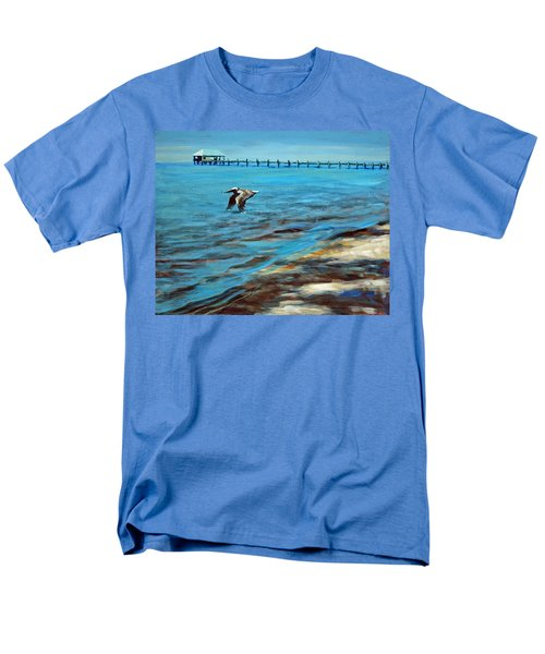 Men's T-Shirt  (Regular Fit) featuring the painting Just Passing By by Suzanne McKee