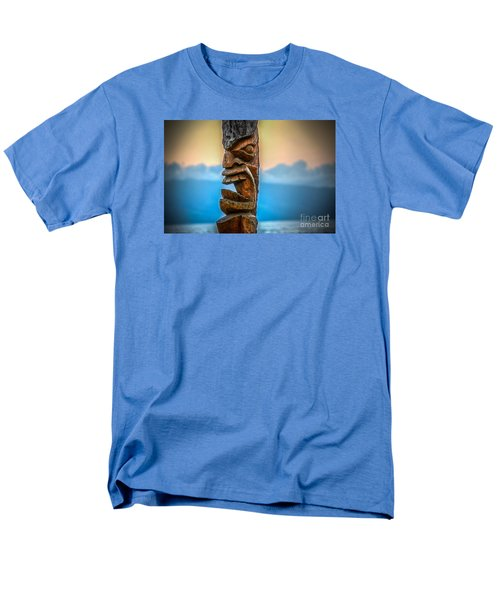 Men's T-Shirt  (Regular Fit) featuring the photograph Ka'anapali Tiki by Kelly Wade