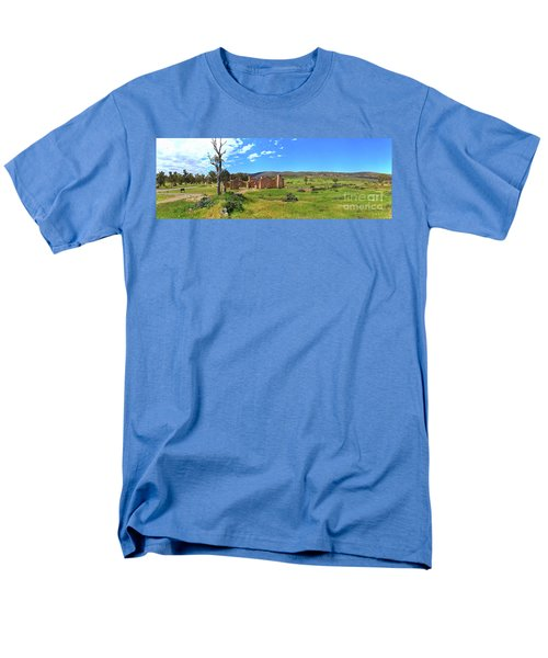 Men's T-Shirt  (Regular Fit) featuring the photograph Kanyaka Homestead Ruins by Bill Robinson