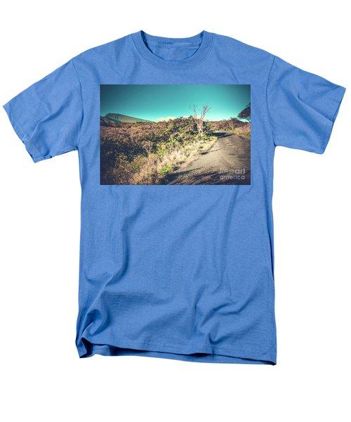 Kaupo Other Road To Hana Sunset Piilani Highway Maui Hawaii Men's T-Shirt  (Regular Fit) by Sharon Mau