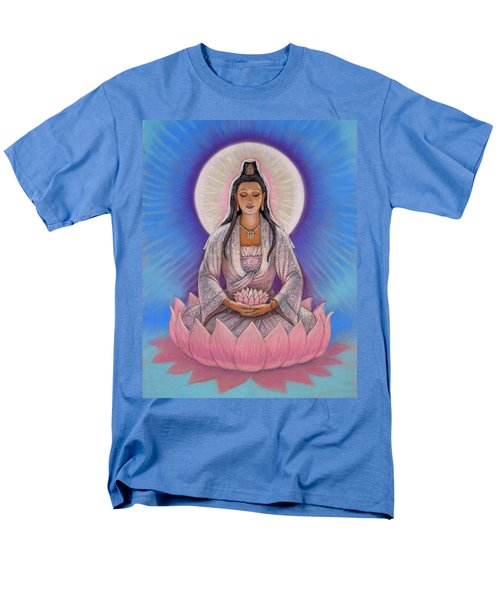 Kuan Yin Men's T-Shirt  (Regular Fit) by Sue Halstenberg