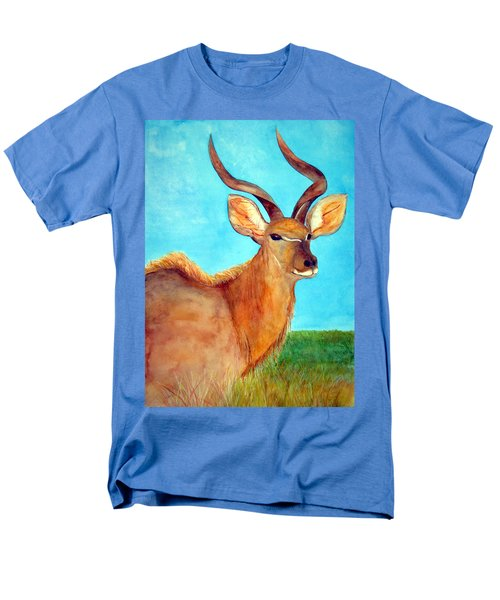 Kudu Men's T-Shirt  (Regular Fit) by Patricia Beebe