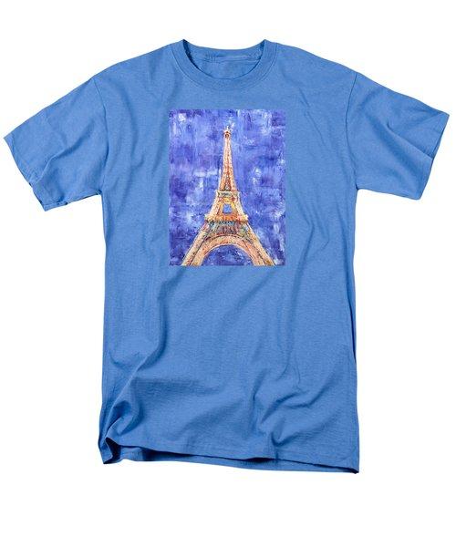 La Tour Eiffel Men's T-Shirt  (Regular Fit) by Elizabeth Lock