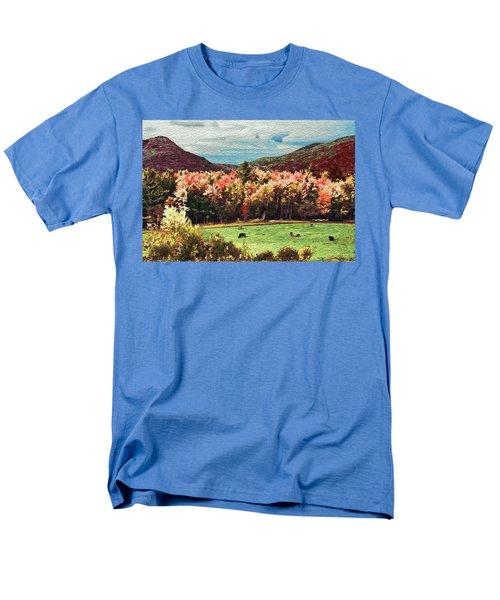Men's T-Shirt  (Regular Fit) featuring the digital art Last Call  by John Selmer Sr