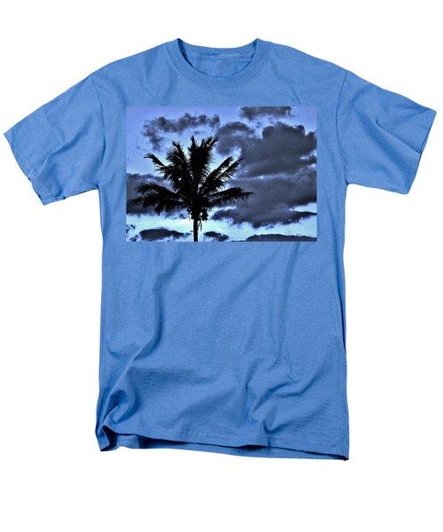 Late Day Palm Men's T-Shirt  (Regular Fit) by John Wartman