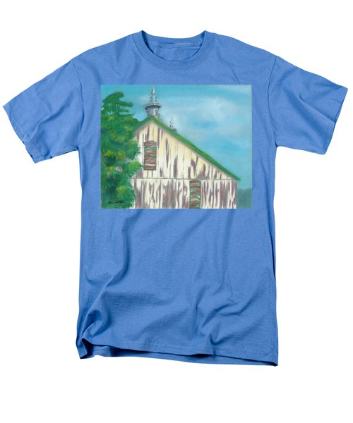 Men's T-Shirt  (Regular Fit) featuring the painting Layers Of Years Gone By by Arlene Crafton