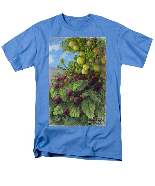 Lemons And Berries Men's T-Shirt  (Regular Fit) by Laurie Morgan